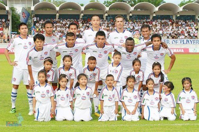 11 ผู้เล่นตัวจริง ราชนาวี ในเกมเอาชนะ นครปฐม ยูไนเต็ด 3-1