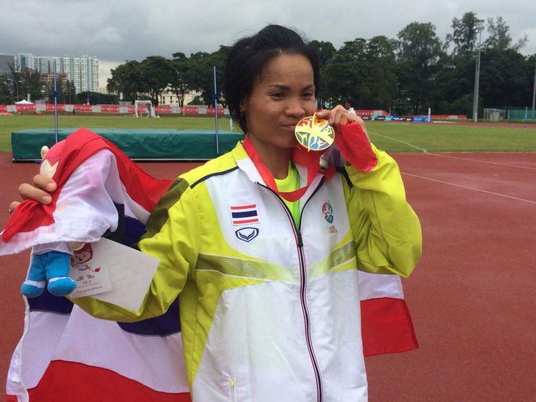 ณัฐธยาน์ ธนรณวัฒน์ นักกีฬามาราธอนไทย