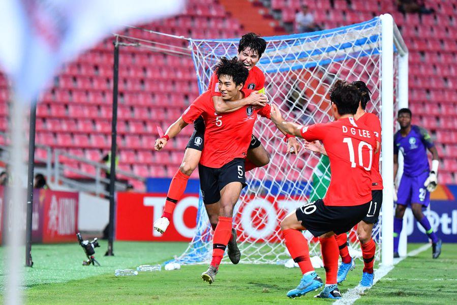 ลุ้นกันยันต่อเวลา! เกาหลีใต้ เอาชนะ ซาอุ 1-0  ได้คว้าแชมป์เอเชีย U23