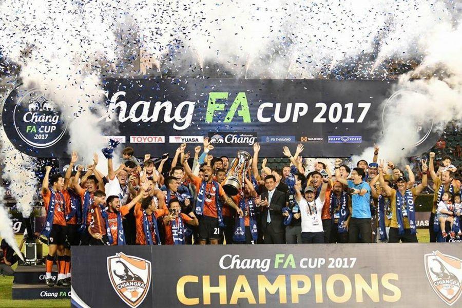 แชมป์ FA CUP จุดเริ่มต้นสู่ความยิ่งใหญ่ของ เชียงราย ยูไนเต็ด