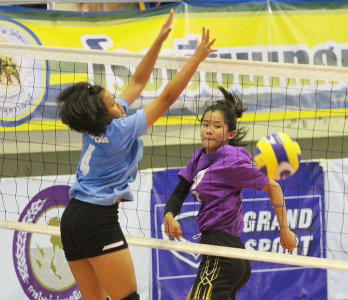 การแข่งขันวอลเลย์บอลระดับยุวชน เยาวชนของไทยมีตลอดปี